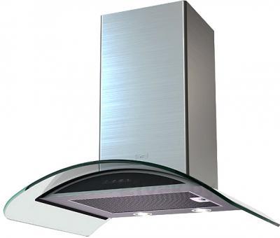 Вытяжка купольная KRONAsteel Sharlotta Sensor 600 (Inox Glass) - общий вид