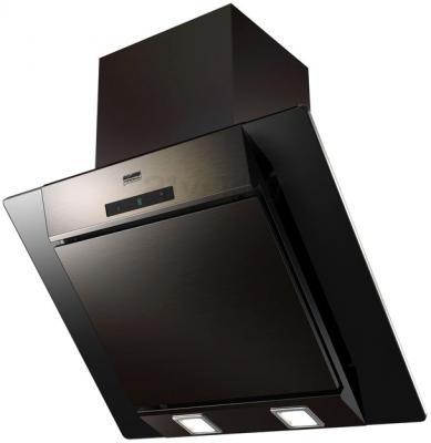 Вытяжка декоративная KRONAsteel Simona 60 3S (черный) - общий вид