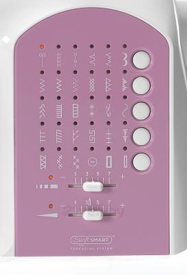 Швейная машина Singer Curvy 8763 - типы строчек