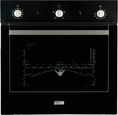 Электрический духовой шкаф KRONAsteel IES 1634 (Black-Inox) - общий вид