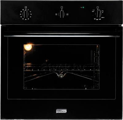 Электрический духовой шкаф KRONAsteel IGG 1634 EG (Black) - общий вид