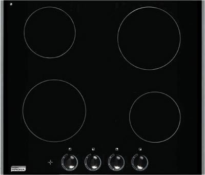 Индукционная варочная панель KRONAsteel IEC 2604 H (Inox) - общий вид