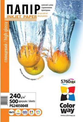 Фотобумага ColorWay PG2405004R - общий вид