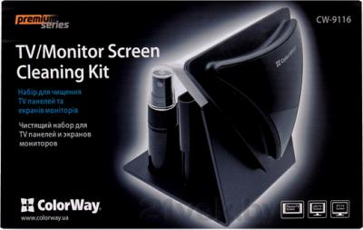 Набор для чистки электроники ColorWay CW-9116 - упаковка