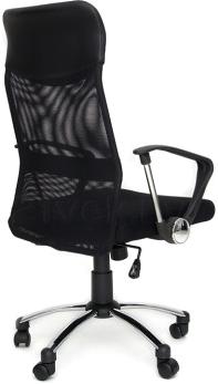 Кресло офисное SiestaDesign Air V2 (Black) - вид сзади