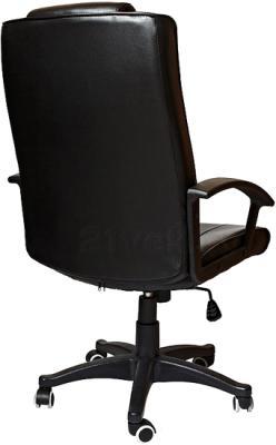 Кресло офисное SiestaDesign Classic V2 (Black) - вид сзади