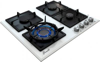 Газовая варочная панель Fornelli PGА 60 QUADRO WH - общий вид