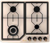 Газовая варочная панель Fornelli PGA 60 GRAZIA (Ivory) -