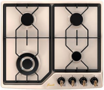 Газовая варочная панель Fornelli PGA 60 GRAZIA (Ivory) - общий вид