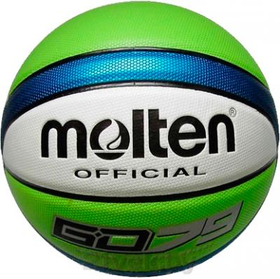 Баскетбольный мяч Molten GD79 - общий вид