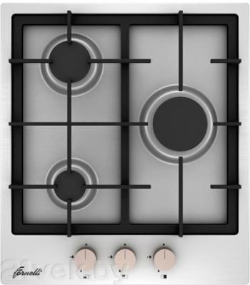 Газовая варочная панель Fornelli PG 45 ACCORDO (Inox) - общий вид
