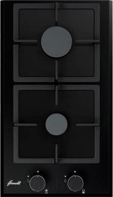 Газовая варочная панель Fornelli PGA 30 QUADRO BL - общий вид