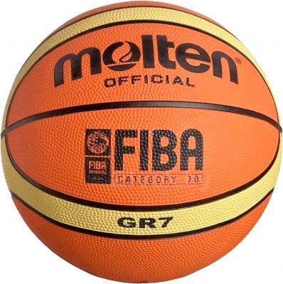 Баскетбольный мяч Molten GR7 - общий вид