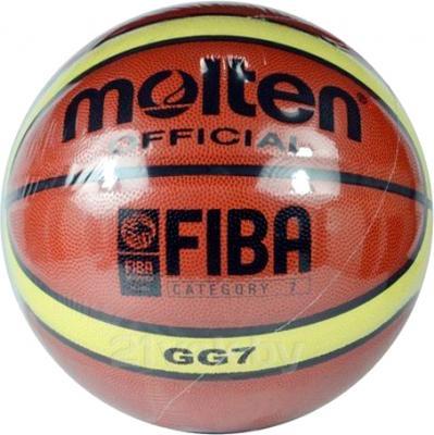 Баскетбольный мяч Molten PU-MO12 - общий вид в упаковке