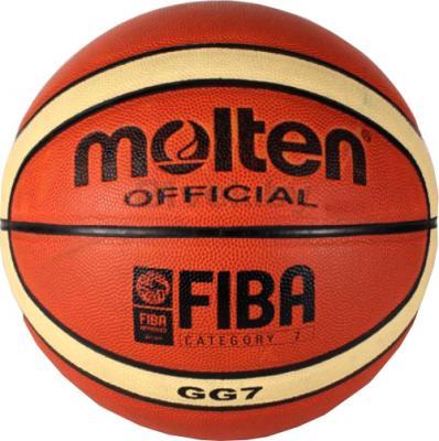 Баскетбольный мяч Molten PU-MO12 - общий вид