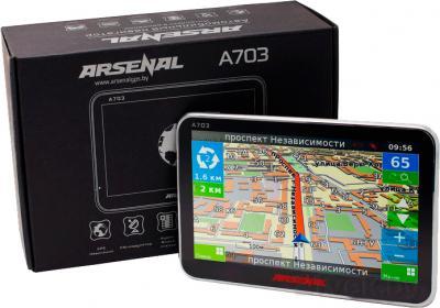 GPS навигатор Arsenal A703 - упаковка