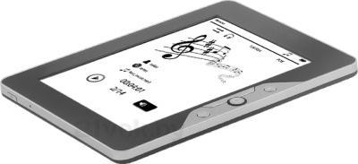Электронная книга TeXet TB-116FL (4GB, Gray) - общийвид