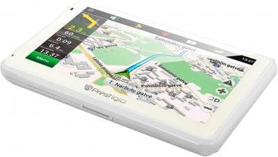 GPS навигатор Prestigio GeoVision 5166 (PGPS5166CIS04GBWNV) - общий вид