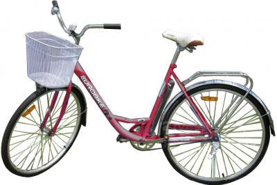 Велосипед Eurobike Laguna (28, бордовый) - общий вид