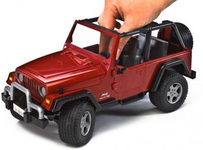 Функциональная игрушка Bruder Внедорожник JEEP Wrangler (02520) - съемная крыша