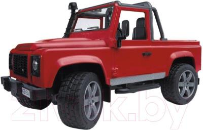 Масштабная модель автомобиля Bruder Внедорожник-пикап Land Rover Defender (02591) - общий вид