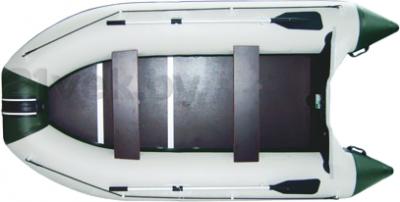 Надувная лодка Велес 03/330 - вид сверху