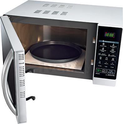 Микроволновая печь LG MF6543AFS - общий вид