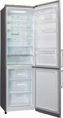 Холодильник с морозильником LG GA-B489YLQZ - в открытом виде