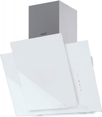 Вытяжка декоративная Cata Podium (50, белое стекло) - общий вид