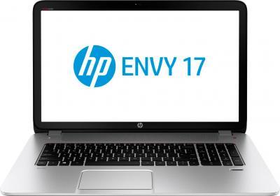 Ноутбук HP ENVY 17-j112sr (F7T11EA) - фронтальный вид
