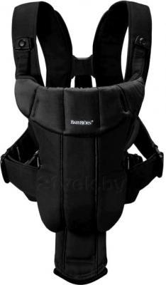 Эрго-рюкзак BabyBjorn Active Cotton Mix 0261.60 (черный) - общий вид