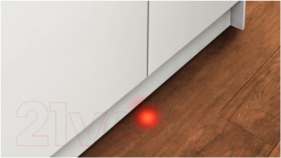 Посудомоечная машина Bosch SMV47L10RU - луч на полу