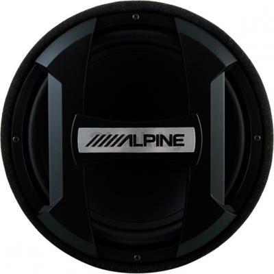 Корпусной пассивный сабвуфер Alpine SWT-12S4 - фронтальный вид