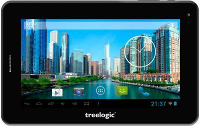 Планшет Treelogic Brevis 709 3G SE - фронтальный вид
