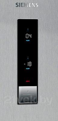 Холодильник с морозильником Siemens KG39NXI20R - элементы управления