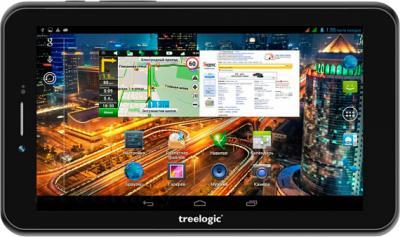 Планшет Treelogic Gravis 76QC 3G GPS - общий вид