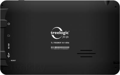 GPS навигатор Treelogic TL-7002BGF AV 4GB - вид сзади