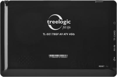 GPS навигатор Treelogic TL-5017BGF AV ATV 4GB - вид сзади