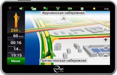 GPS навигатор Treelogic TL-5003BGF AV 4Gb - общий вид