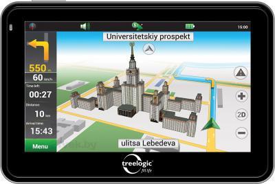 GPS навигатор Treelogic TL-501 4Gb - общий вид