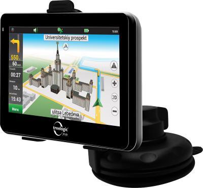 GPS навигатор Treelogic TL-501 4Gb - с креплением