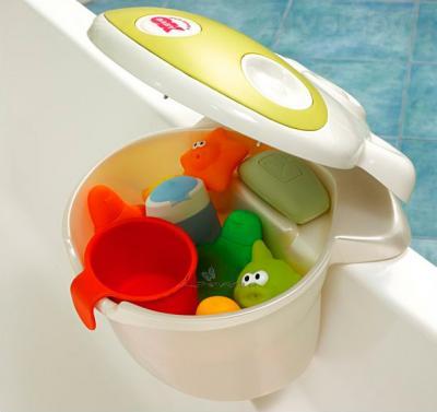 Навесной контейнер на ванну Ok Baby Muggy 832 - пример использования