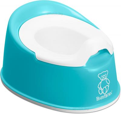 Детский горшок BabyBjorn Smart 0510.13 (Turquoise) - общий вид