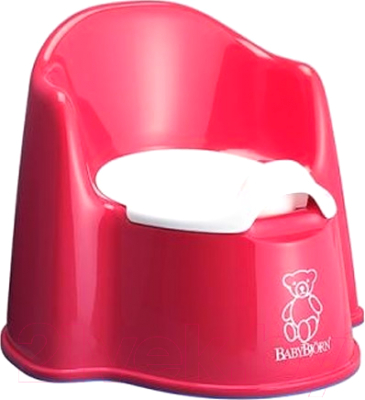 Детский горшок BabyBjorn 0551.05 (Red)