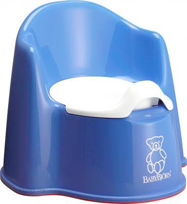 Детский горшок BabyBjorn 0551.15 (Blue) - общий вид