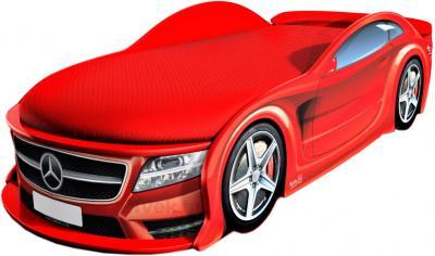 Детская кровать-машинка МебеЛев Мерседес-М MB-M (красная) - общий вид