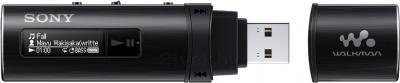 USB-плеер Sony NWZ-B183F (черный) - общий вид