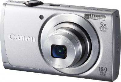 Компактный фотоаппарат Canon PowerShot A2600 (Silver) - общий вид