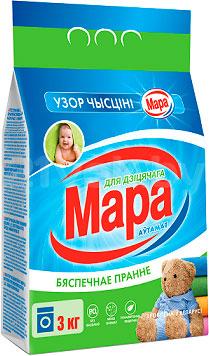 Стиральный порошок Мара Узор Чысцiнi для детского (3кг) - общий вид