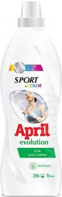 Гель для стирки April Evolution Sport & Color (1л) - общий вид
